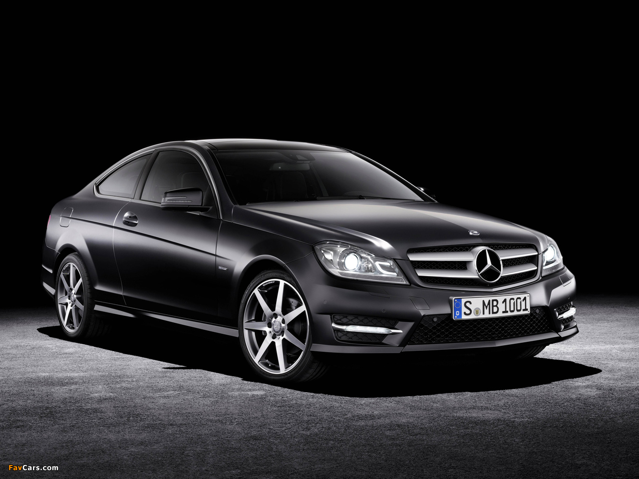 Mercedes-Benz C 250 CDI Coupe (C204) 2011 wallpapers (1280 x 960)