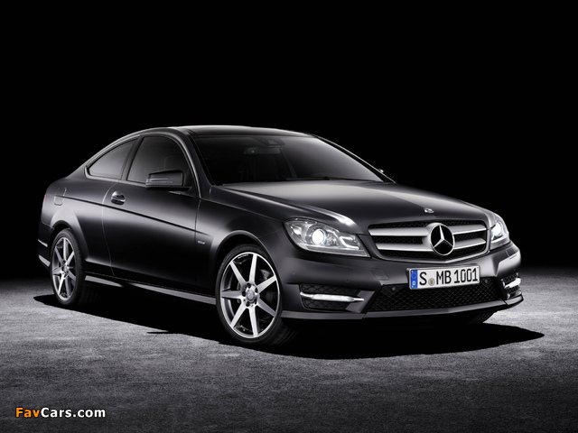 Mercedes-Benz C 250 CDI Coupe (C204) 2011 wallpapers (640 x 480)