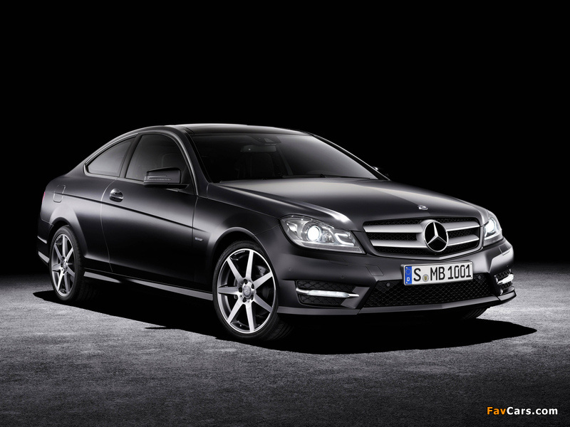 Mercedes-Benz C 250 CDI Coupe (C204) 2011 wallpapers (800 x 600)