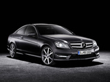 Mercedes-Benz C 250 CDI Coupe (C204) 2011 wallpapers