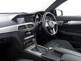 Mercedes-Benz C 220 CDI Coupe UK-spec (C204) 2011 wallpapers