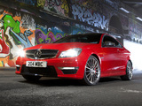 Mercedes-Benz C 63 AMG Coupe UK-spec (C204) 2011 wallpapers
