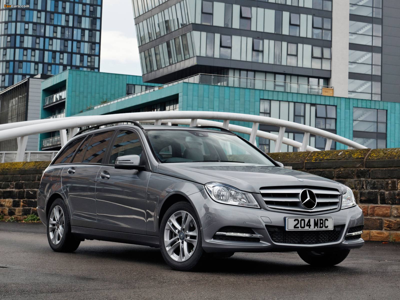 Mercedes-Benz C 220 CDI Estate UK-spec (S204) 2011 wallpapers (1600 x 1200)