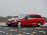 Mercedes-Benz C 250 CDI AMG Sports Package Estate UK-spec (S204) 2011 wallpapers