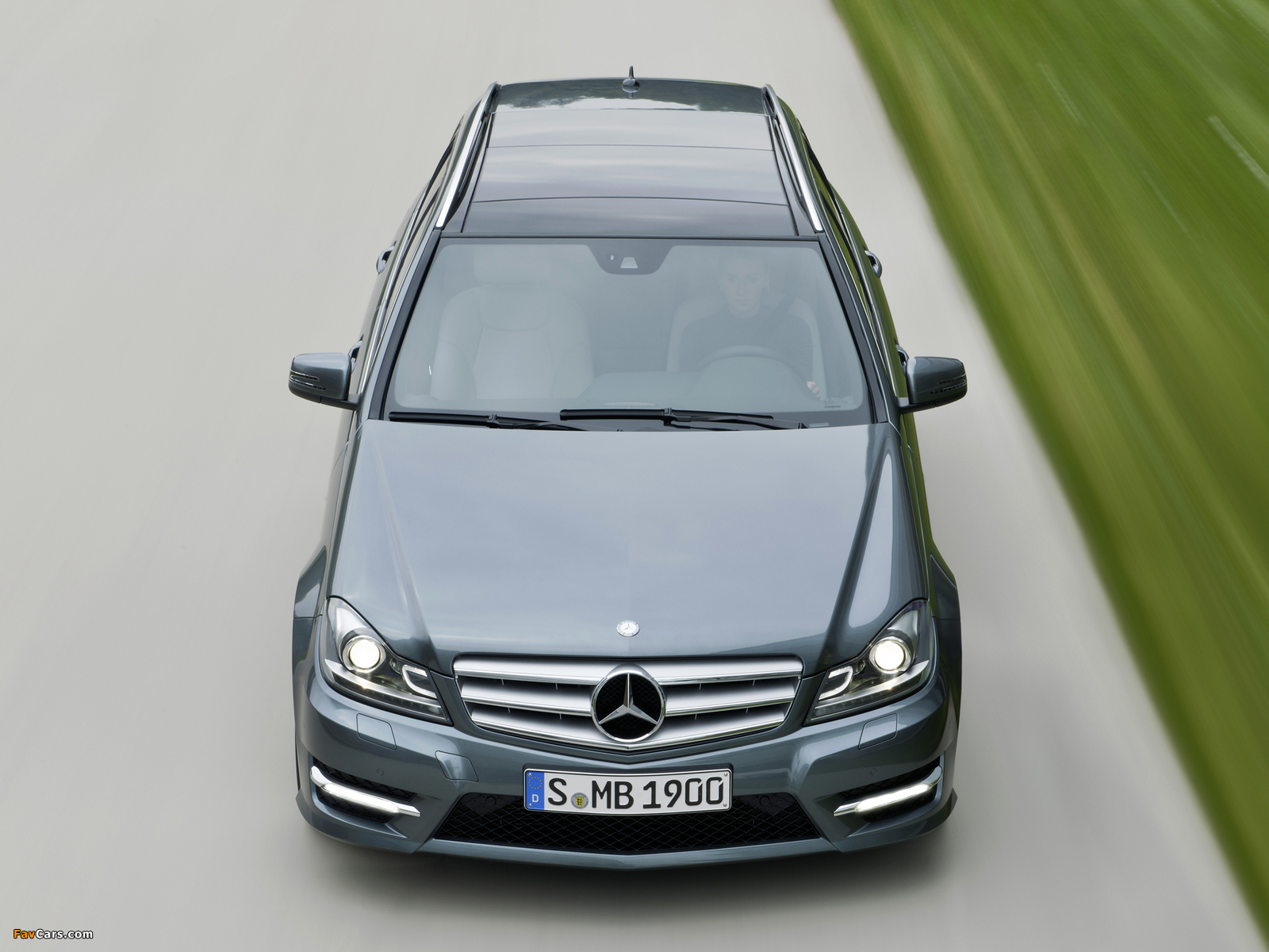 Mercedes-Benz C 350 CDI 4MATIC AMG Sports Package Estate (S204) 2011 wallpapers (1600 x 1200)