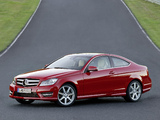 Mercedes-Benz C 350 Coupe (C204) 2011 wallpapers