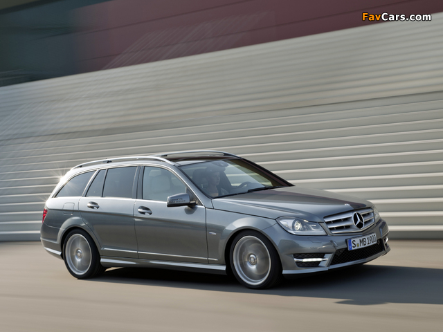 Mercedes-Benz C 350 CDI 4MATIC AMG Sports Package Estate (S204) 2011 wallpapers (640 x 480)