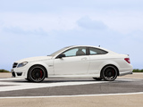 Mercedes-Benz C 63 AMG Coupe (C204) 2011 wallpapers