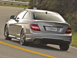 Mercedes-Benz C 250 Coupe Sport US-spec (C204) 2012 photos