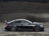Mercedes-Benz C 63 AMG Black Series Coupe UK-spec (C204) 2012 photos