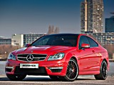 Mercedes-Benz C 63 AMG Coupe Austria Edition (C204) 2012 photos