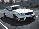 Mercedes-Benz C 63 AMG Black Series Coupe AU-spec (C204) 2012 pictures