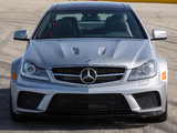 Mercedes-Benz C 63 AMG Black Series Coupe US-spec (C204) 2012 pictures