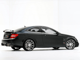 Brabus Bullit Coupe 800 (C204) 2012 wallpapers
