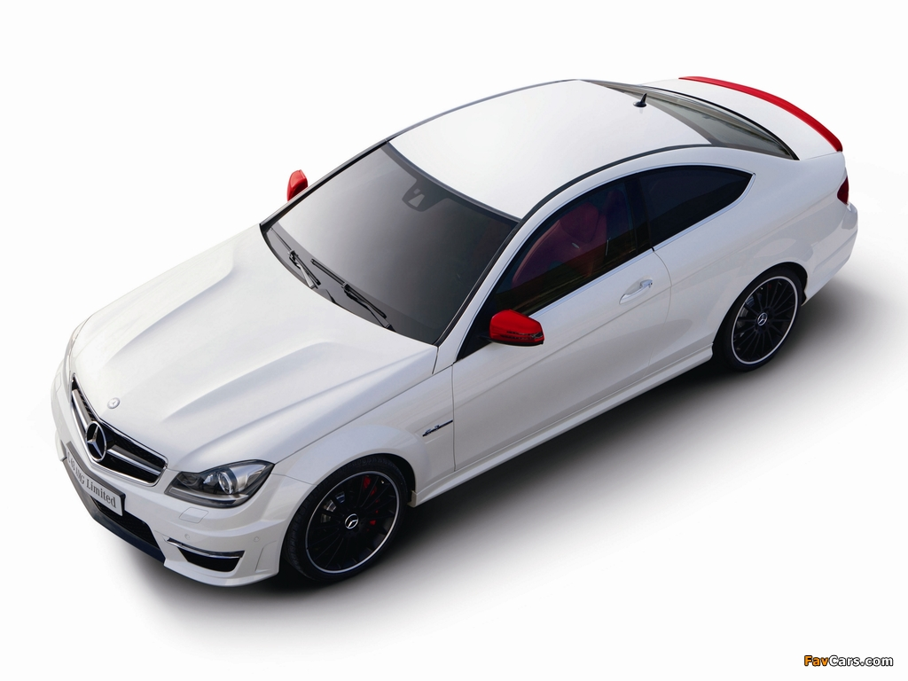 Mercedes-Benz C 63 AMG Limited Coupe (C204) 2013 photos (1024 x 768)
