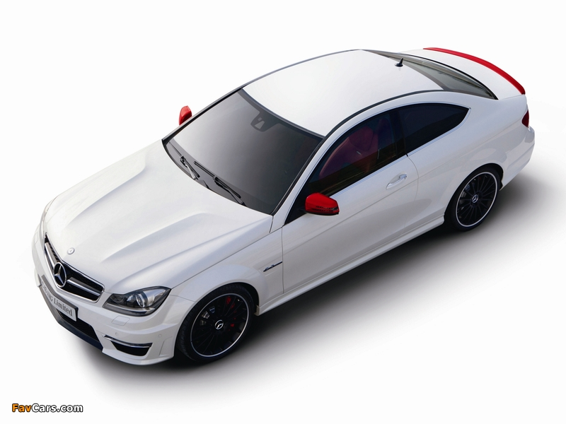 Mercedes-Benz C 63 AMG Limited Coupe (C204) 2013 photos (800 x 600)