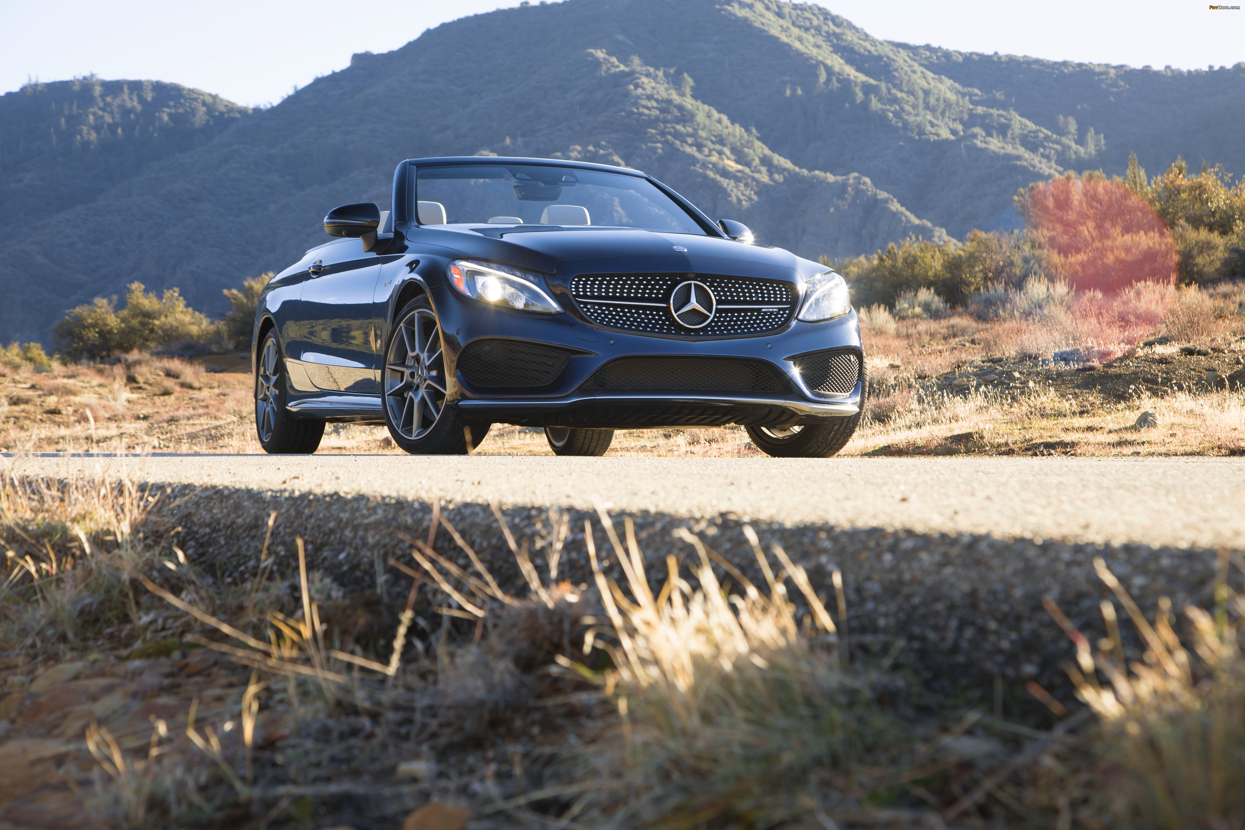 Mercedes-AMG C 43 4MATIC Cabriolet North America (A205) 2016 images (4096 x 2730)