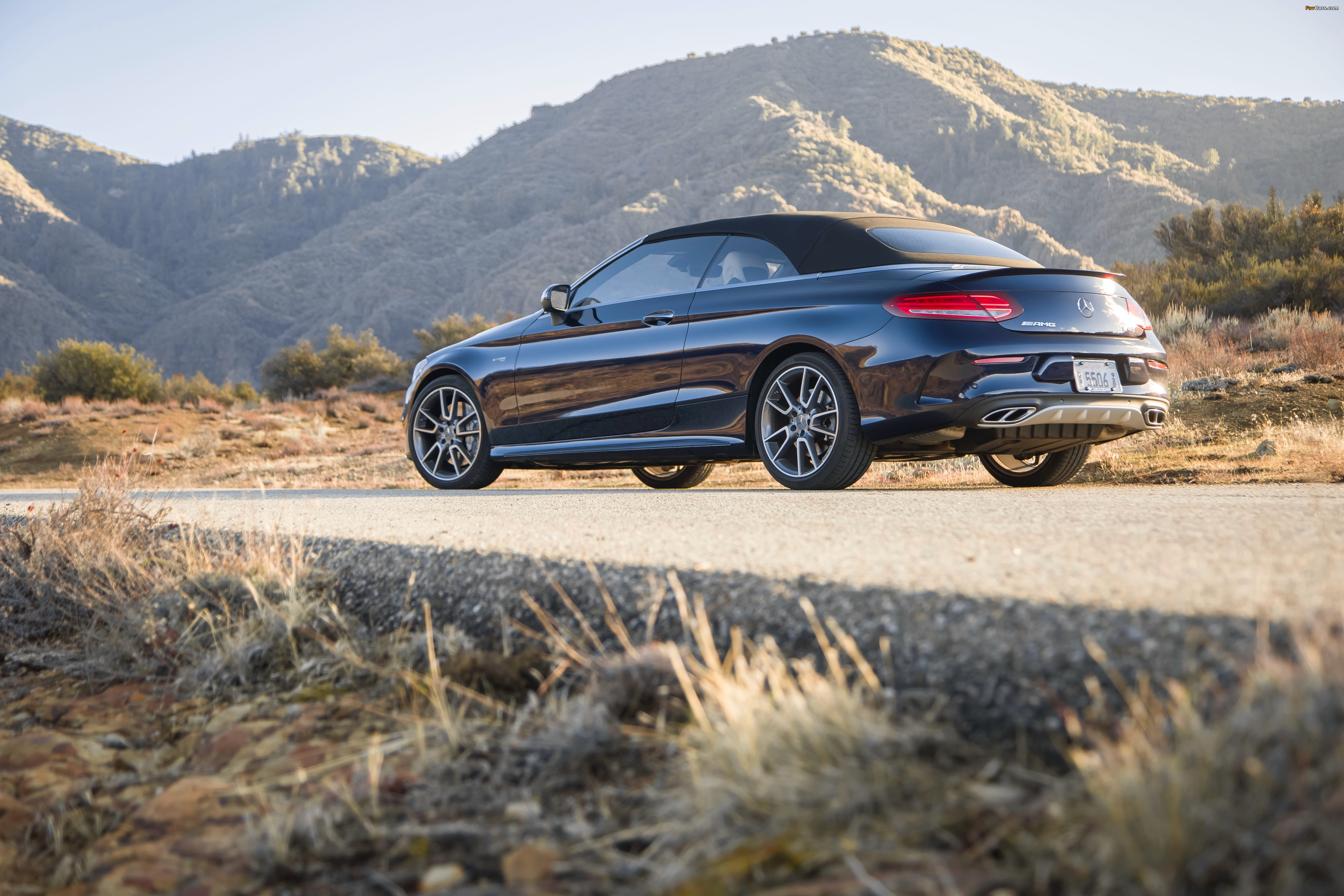 Mercedes-AMG C 43 4MATIC Cabriolet North America (A205) 2016 images (4096 x 2731)