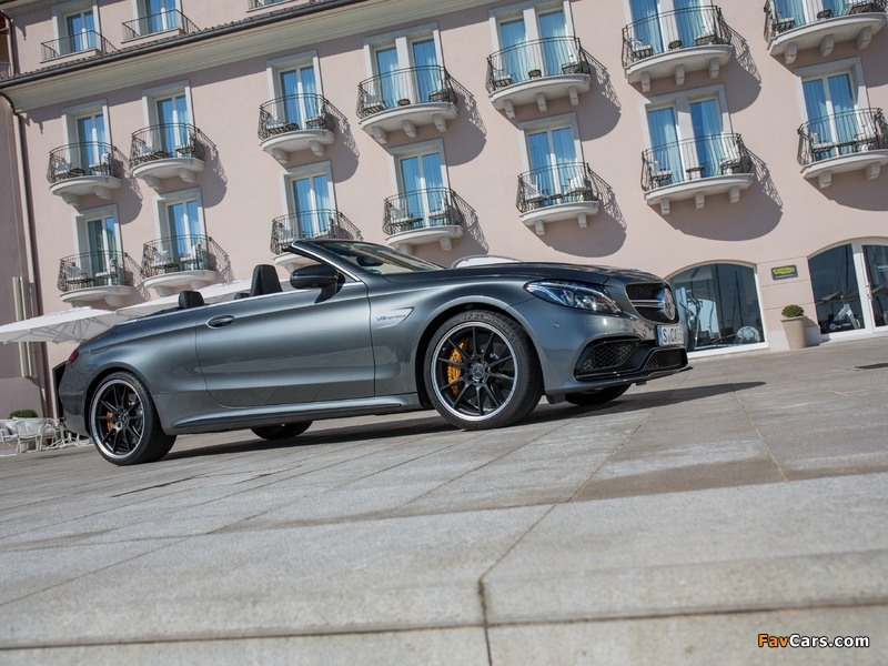 Mercedes-AMG C 63 S Cabriolet (A205) 2016 photos (800 x 600)