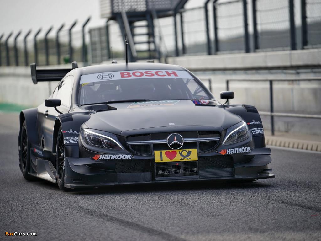 Mercedes-AMG C 63 Coupé DTM (C205) 2016 photos (1024 x 768)