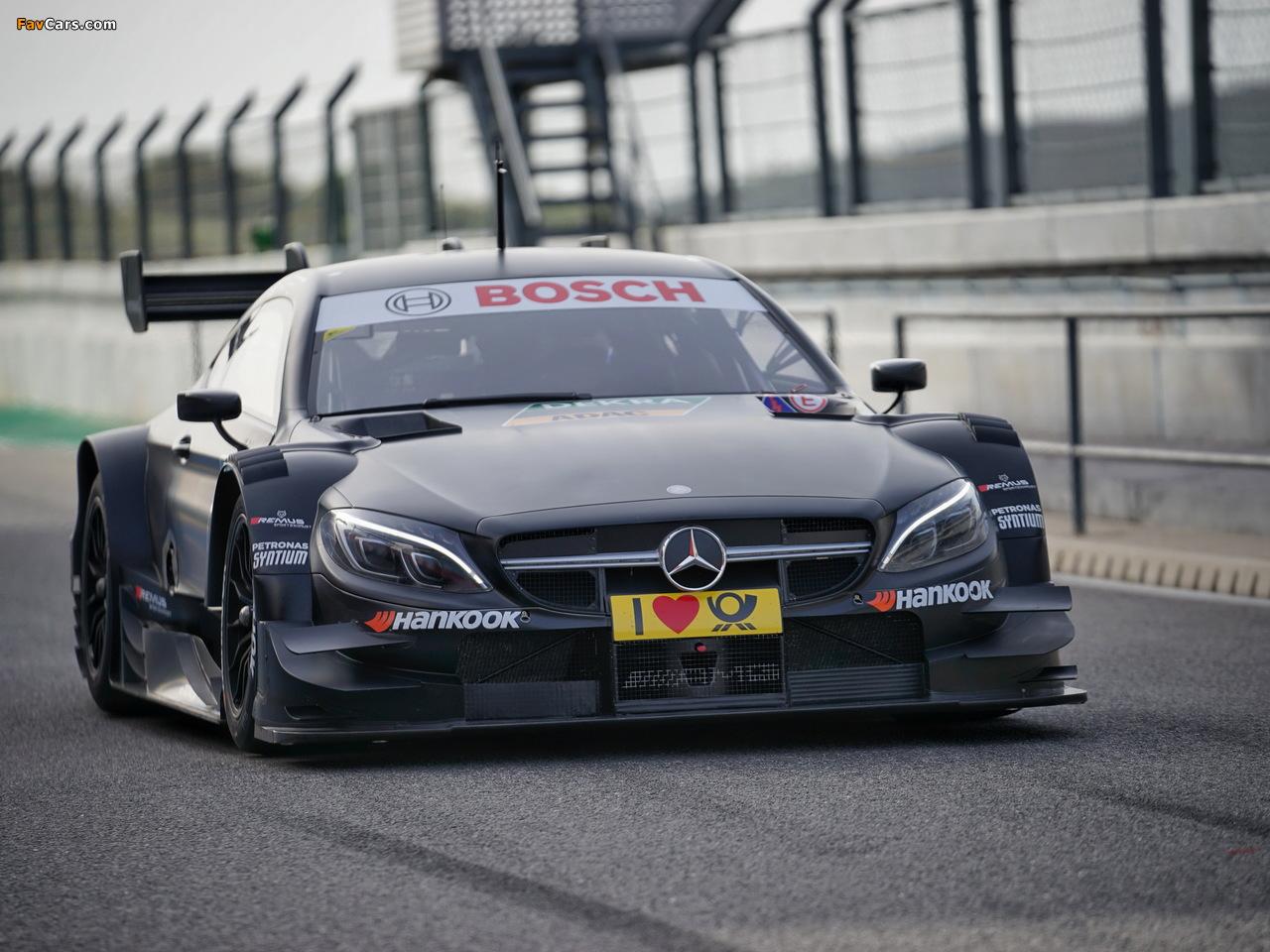 Mercedes-AMG C 63 Coupé DTM (C205) 2016 photos (1280 x 960)