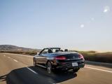 Mercedes-Benz C 300 4MATIC Cabriolet AMG Line North America (C205) 2016 pictures