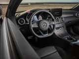 Mercedes-Benz C 300 4MATIC Cabriolet AMG Line North America (C205) 2016 pictures
