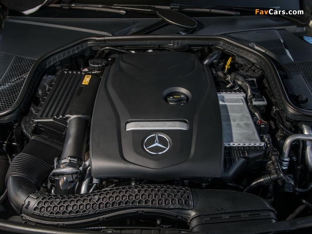 Mercedes-Benz C 300 4MATIC Cabriolet AMG Line North America (C205) 2016 wallpapers (640 x 480)