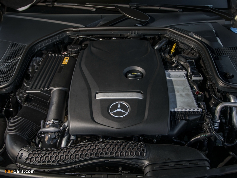 Mercedes-Benz C 300 4MATIC Cabriolet AMG Line North America (C205) 2016 wallpapers (800 x 600)