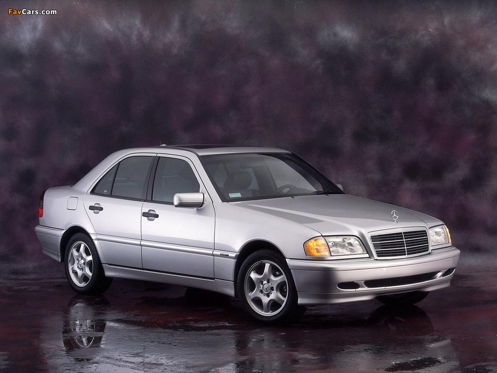 Mercedes-Benz C-Klasse (W202) 1993–2000 photos (1024 x 768)
