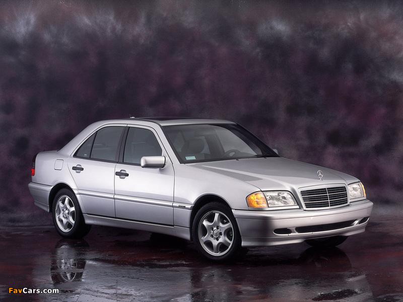 Mercedes-Benz C-Klasse (W202) 1993–2000 photos (800 x 600)