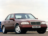 Mercedes-Benz C-Klasse UK-spec (W202) 1993–2000 pictures