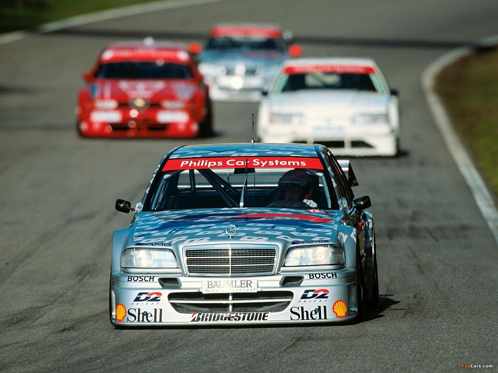 Mercedes-Benz C AMG DTM (W202) 1994 wallpapers (1600x1200)