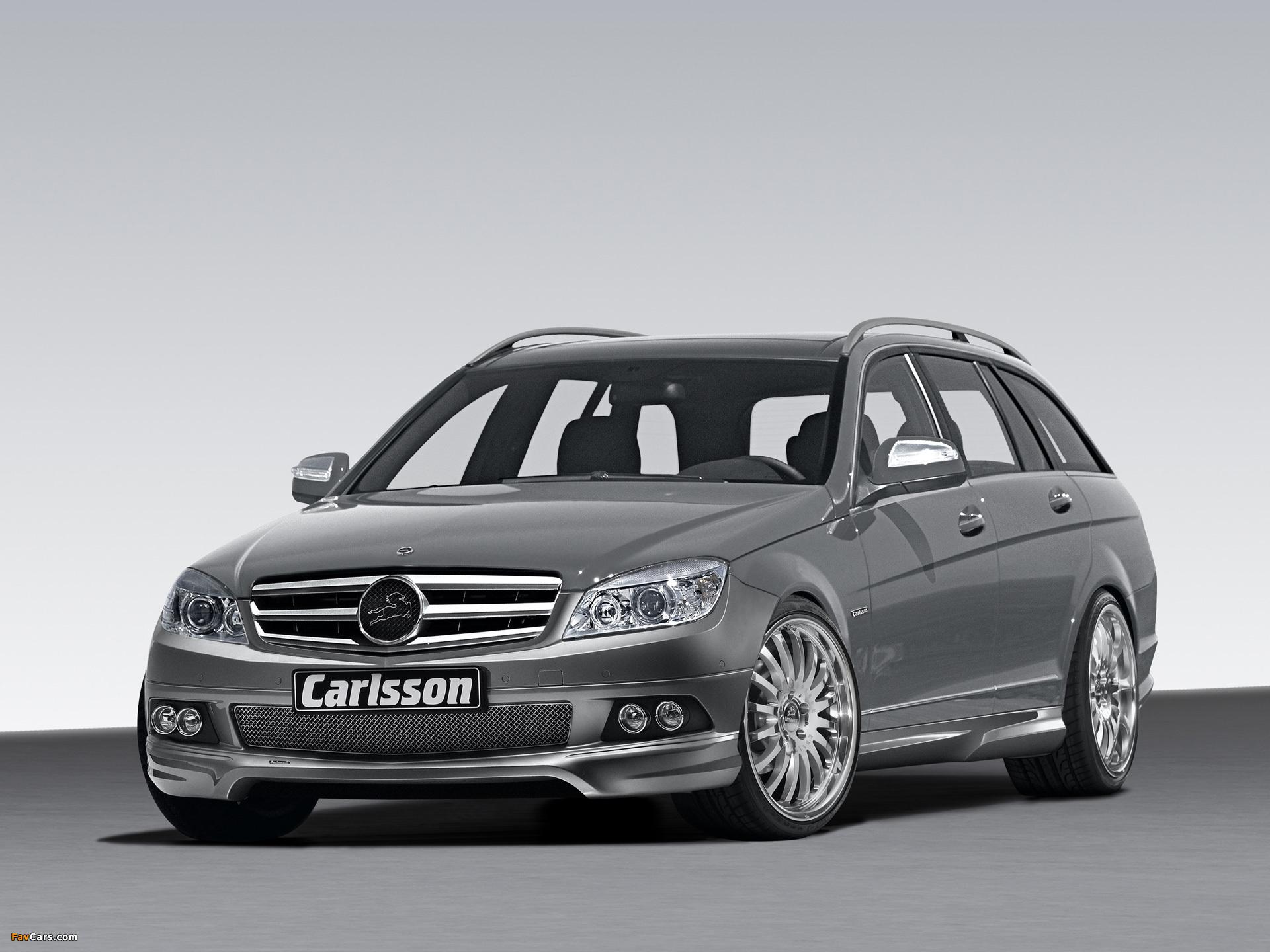 Carlsson Mercedes-Benz C-Klasse Estate (S204) 2008 photos (1920 x 1440)
