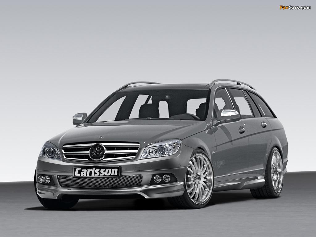 Carlsson Mercedes-Benz C-Klasse Estate (S204) 2008 photos (1024 x 768)