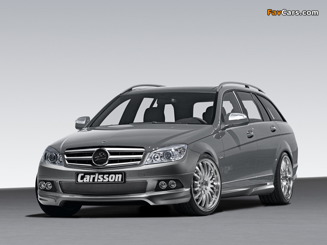 Carlsson Mercedes-Benz C-Klasse Estate (S204) 2008 photos (640 x 480)