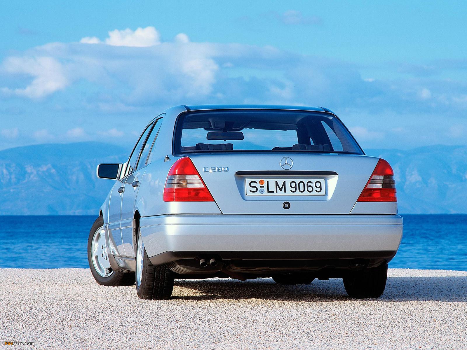 Photos of Mercedes-Benz C 280 (W202) 1993–97 (1600 x 1200)