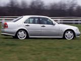 Photos of Mercedes-Benz C 36 AMG UK-spec (W202) 1993–97