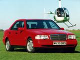 Photos of Mercedes-Benz C-Klasse UK-spec (W202) 1993–2000