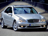 Photos of Mercedes-Benz C 32 AMG (W203) 2001–04