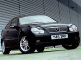 Photos of Mercedes-Benz C 200 Kompressor Sportcoupe UK-spec (C203) 2001–05