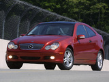 Photos of Mercedes-Benz C 230 Kompressor Sportcoupe US-spec (C203) 2001–05
