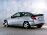 Photos of Mercedes-Benz C 230 Kompressor Sportcoupe (C203) 2001–05