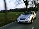 Photos of Mercedes-Benz C-Klasse Sportcoupe (C203) 2001–07