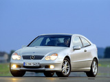 Photos of Mercedes-Benz C 200 Kompressor Sportcoupe (C203) 2001–05