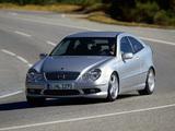 Photos of Mercedes-Benz C 30 CDI AMG Sportcoupe (C203) 2002–04