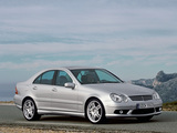 Photos of Mercedes-Benz C 55 AMG (W203) 2004–07