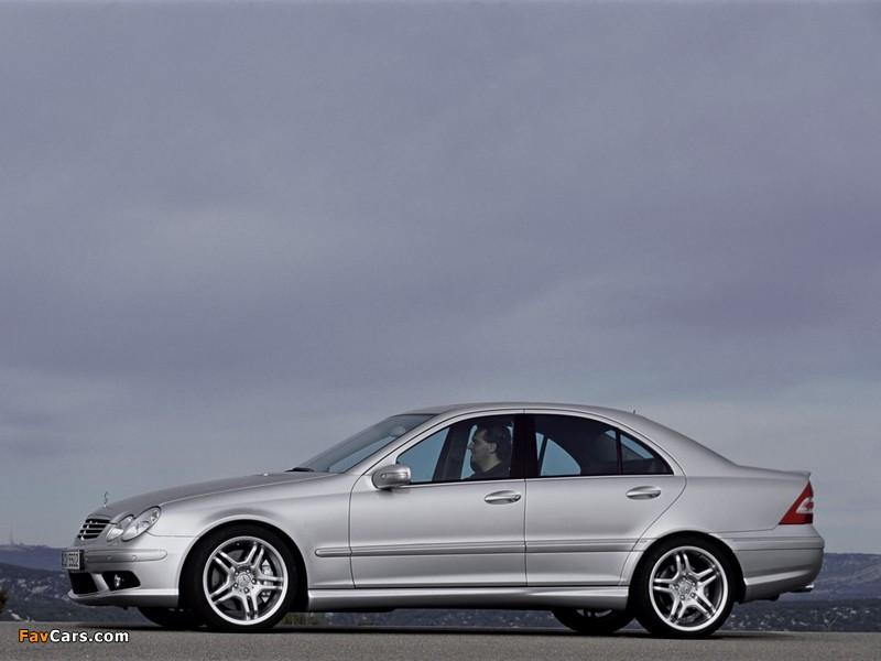 Photos of Mercedes-Benz C 55 AMG (W203) 2004–07 (800 x 600)