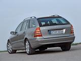 Photos of Mercedes-Benz C 230 Estate (S203) 2005–07