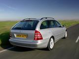Photos of Mercedes-Benz C 230 Estate UK-spec (S203) 2005–07